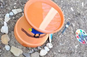 Apologia World bird bath project