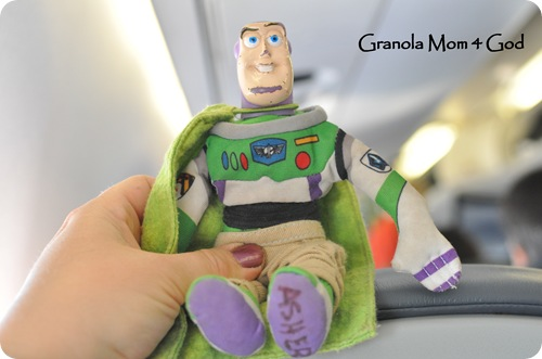 Buzz on an airplane