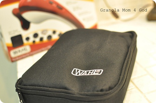 Wahl Heat Therapy carrying case