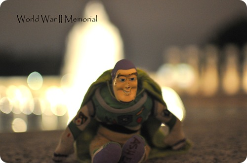 World War II Memorial with Buzz