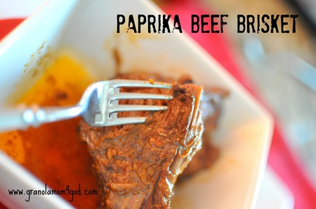 paprika beef brisket