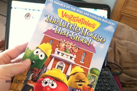 veggietales little house that stood