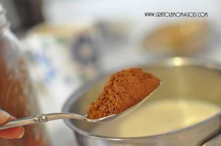 1 heaping tablespoon of cocoa