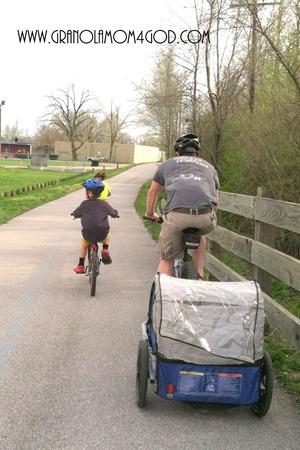 biking in Indianapolis