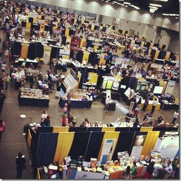 homeschool exhibitor booth