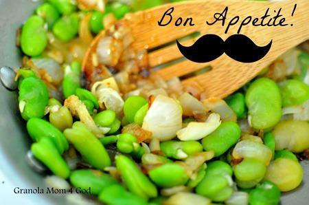 Bon appetite Fava Beans