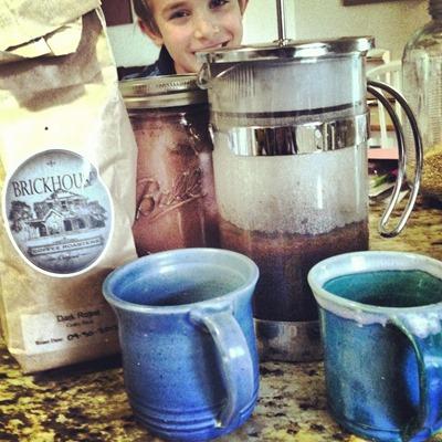 Brickhouse coffee for kids