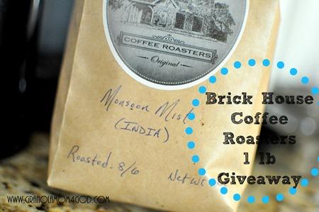 giveaway Brickhouse Coffee Roasters