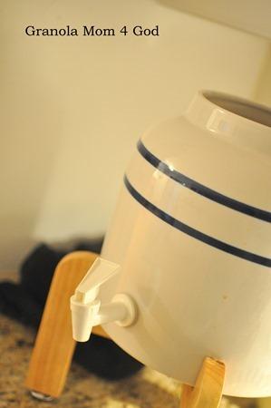 ceramic water cooler for kombucha