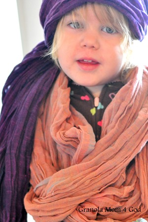 FashionABLE scarf on child