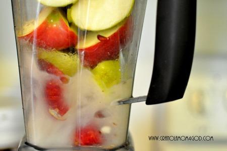 applesauce water vitamix