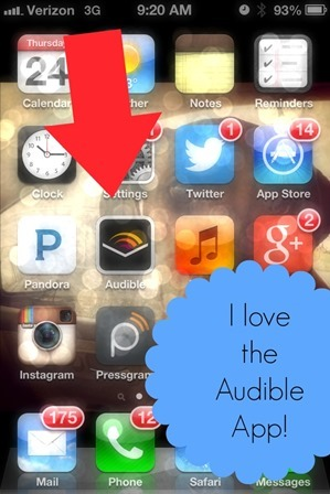 audible phone app bible