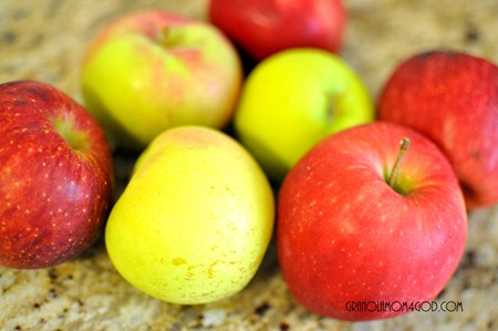 playing pool with apples Vitamix