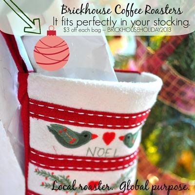 Brickhouse in your stocking