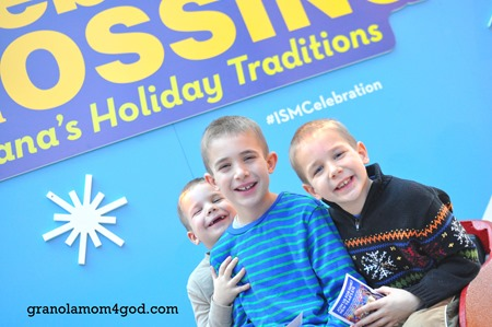 Indiana State Museum celebration with kids