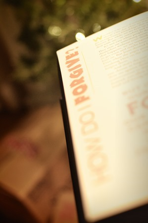 bible in a year how to forgive