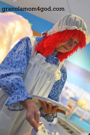 raggidy ann at Indiana State Museum