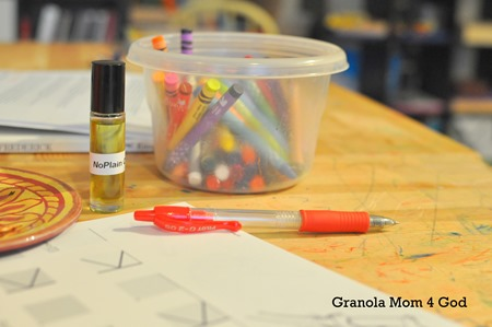 Homeschool no complain oil
