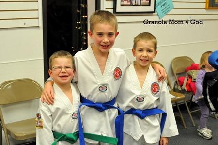 taekwondo boys