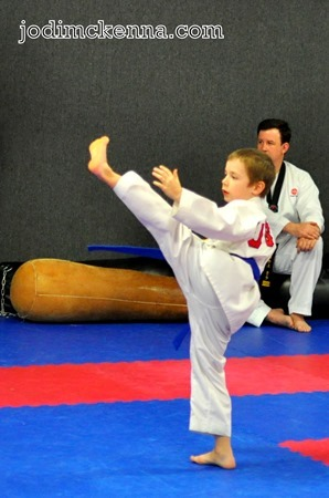 2nd grade kick