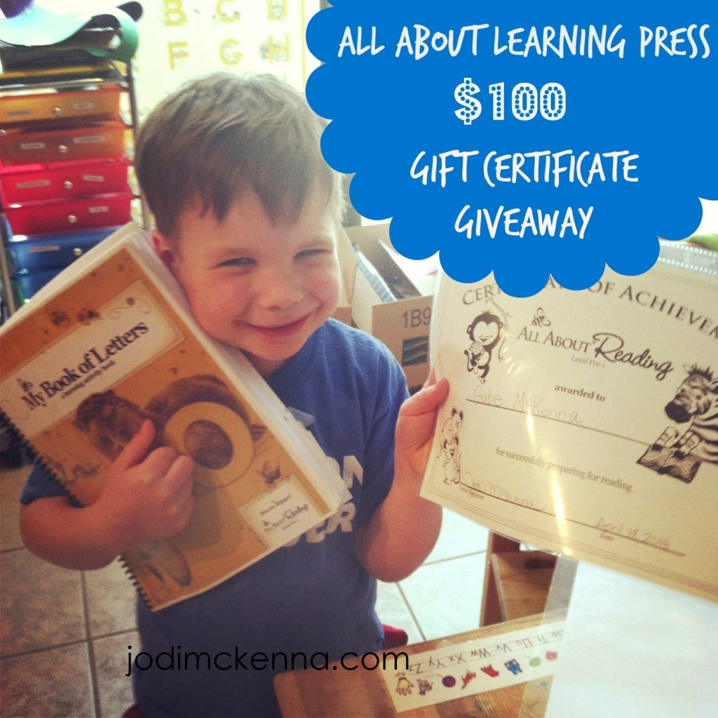 All about Learning giveaway