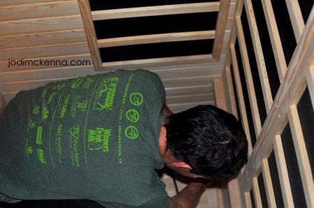 installing infared panels golden designs sauna