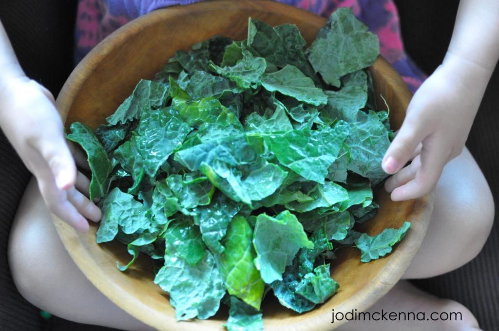 massaging your kale salad