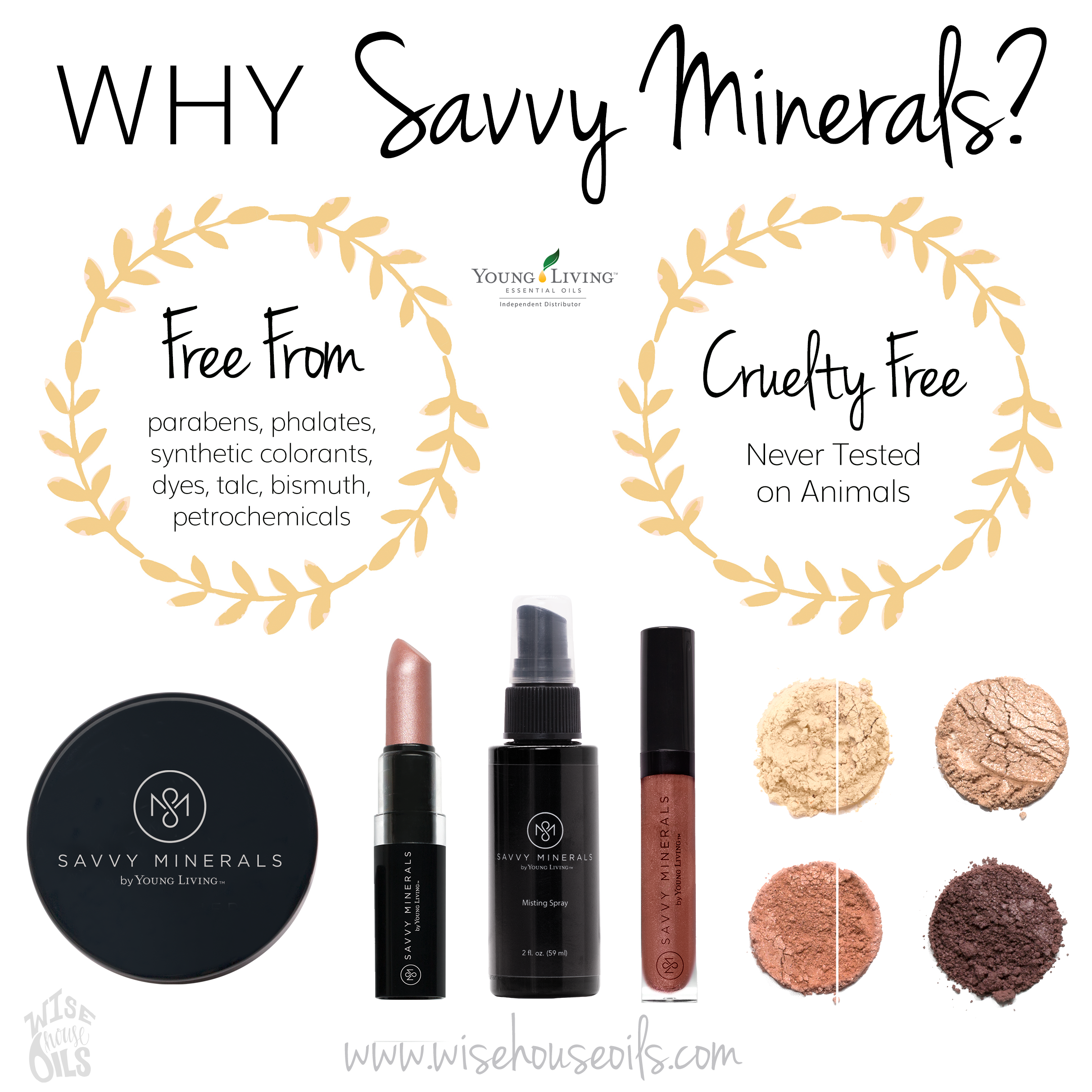 Young Living Savvy Minerals Makeup: Why Savvy Minerals By Young Living